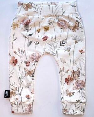 TessLiva-handgemaakte-baby-kinderkleding-broekje-Flowers-butterfly