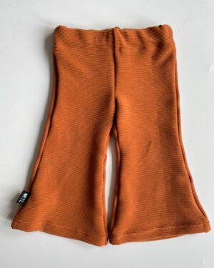 TessLiva-handgemaakte-baby-kinderkleding-flared-pants-rib-ottoman-cognac