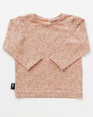 1108420201-Longsleeve-Dots rose-TessLiva-handgemaakte-baby-kinderkleding