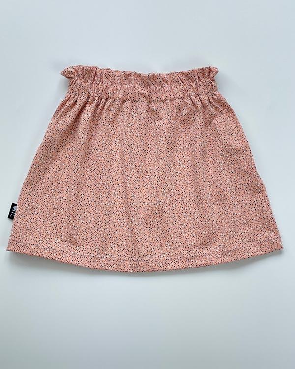 1138420201-Paperbag skirt-Dots rose-TessLiva-handgemaakte-baby-kinderkleding