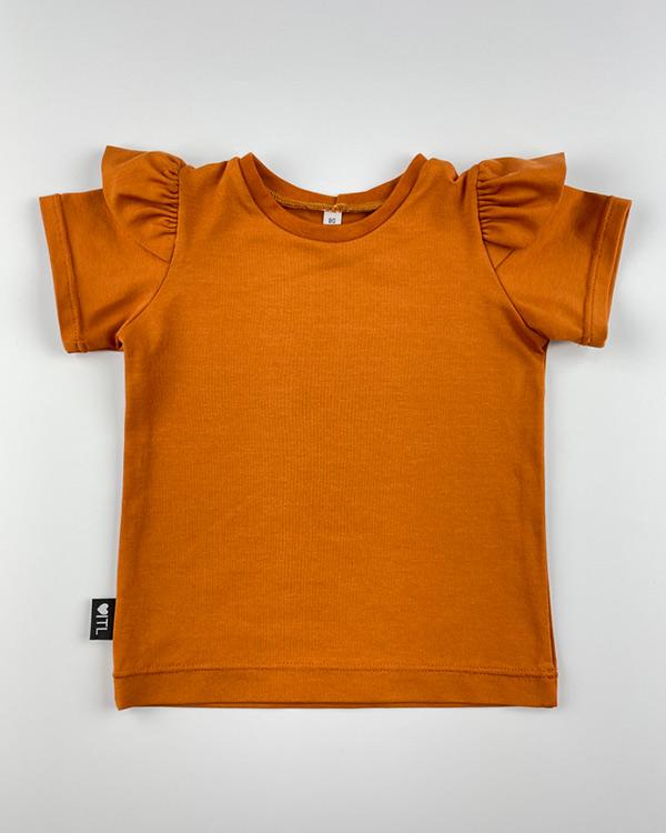 1161420201-Shirt-ruffles-Cognac-TessLiva-handgemaakte-baby-kinderkleding