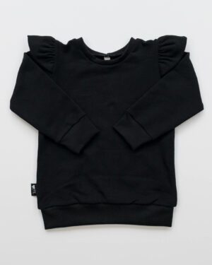 1185320201-Sweater-Zwart (Sweatstof)-TessLiva-handgemaakte-baby-kinderkleding